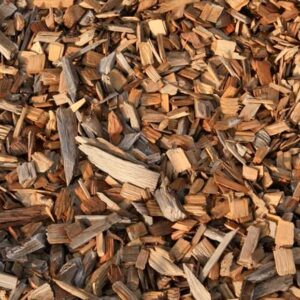 wood chips closeup