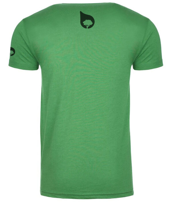 without trees we'd be naked tshirt green back