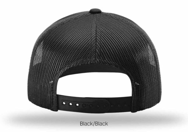 bluestone tree trucker hat black-black-3
