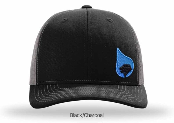 bluestone tree trucker hat black-charcoal-2
