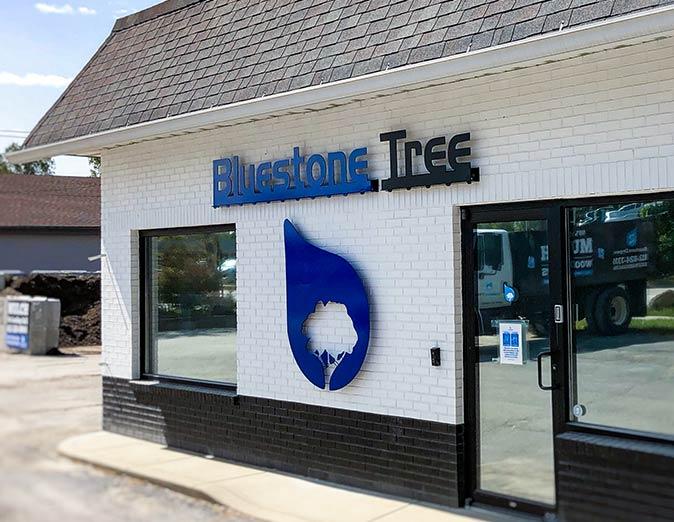 Building entrance - Bluestone Tree - tree removal service