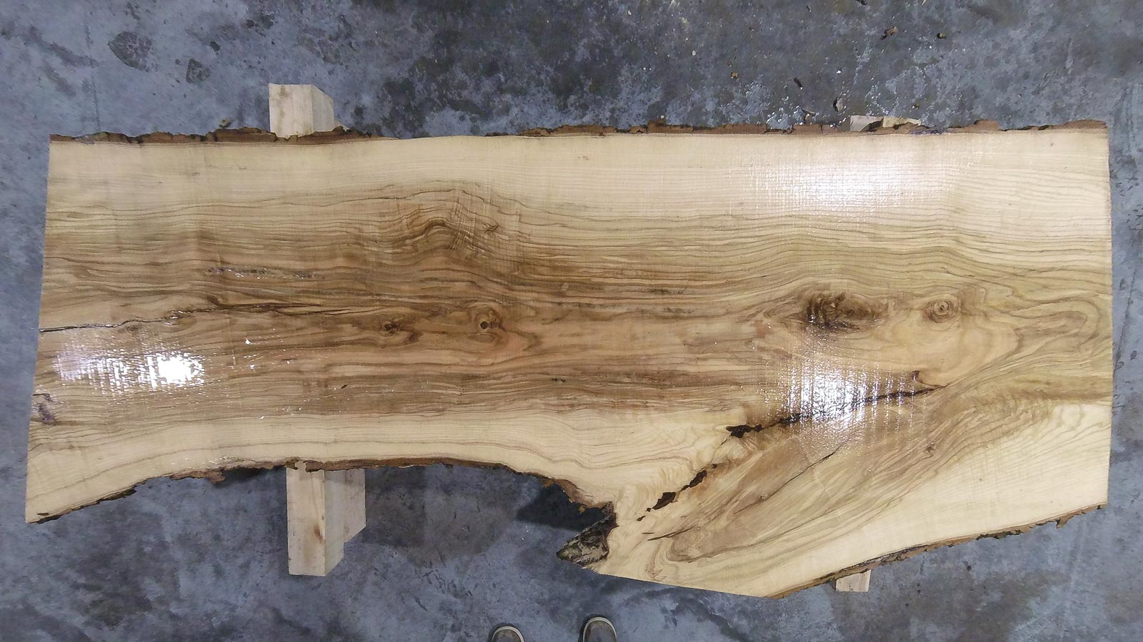 Ash Wood Slab AH-01-01