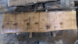 Red Oak wood slab RO-04-5