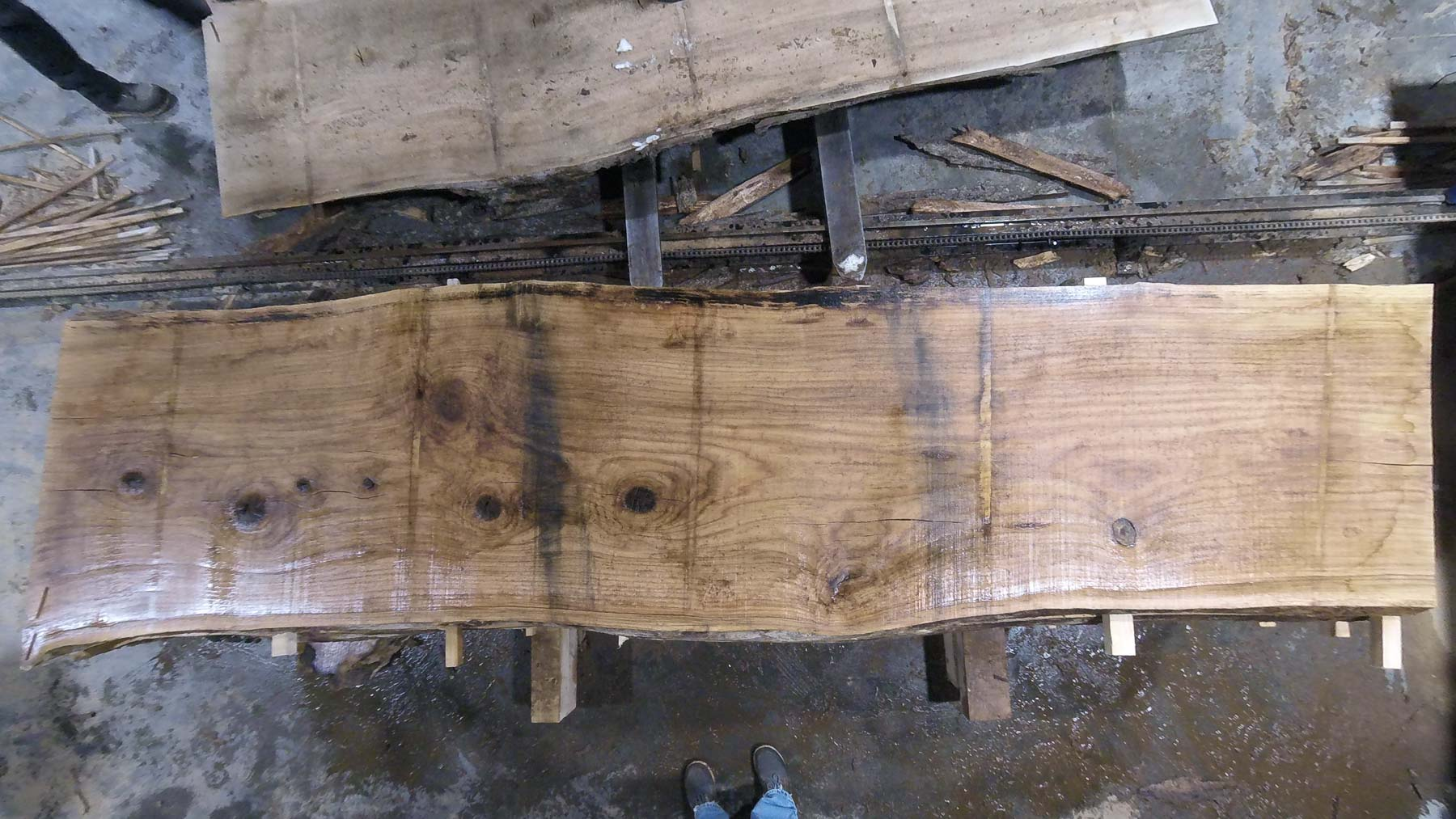 Red Oak wood slab RO-04-6