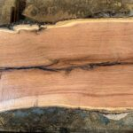 Black Oak wood slab KO-02-08