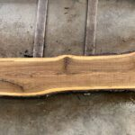 Black Walnut wood slab WN-08-02