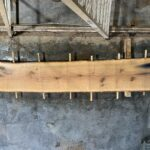 White Oak wood slab WO-02