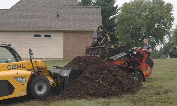 100+ Yards of Mulch Delivered and Spread
