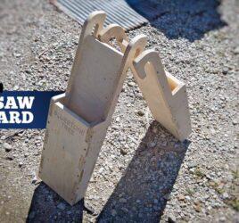 Plywood Chainsaw Scabbard